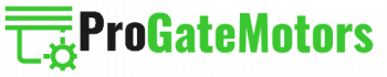 pro gate motors logo transparent